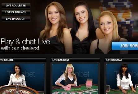 live dealers roulette bj baccarat titanbet