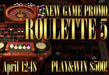 roulette 5 promo